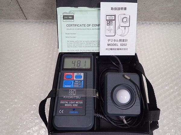 デジタル照度計1