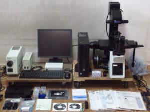 オリンパス 倒立式顕微鏡 倒立型リサーチ顕微鏡 IX73 セット